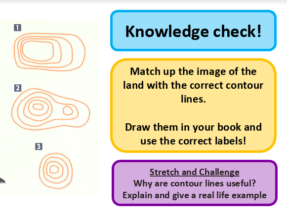scale on a map - map skills - KS3 Geography
