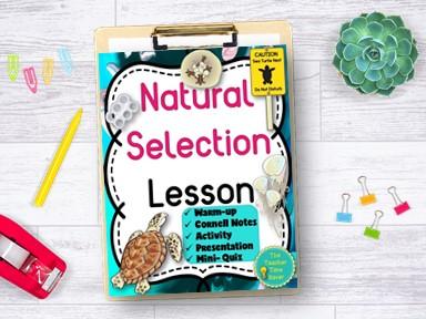 Charles Darwin and Natural Selection Lesson