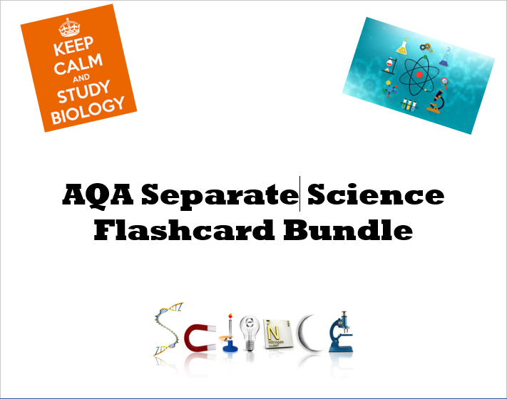 AQA Separate Science flashcards