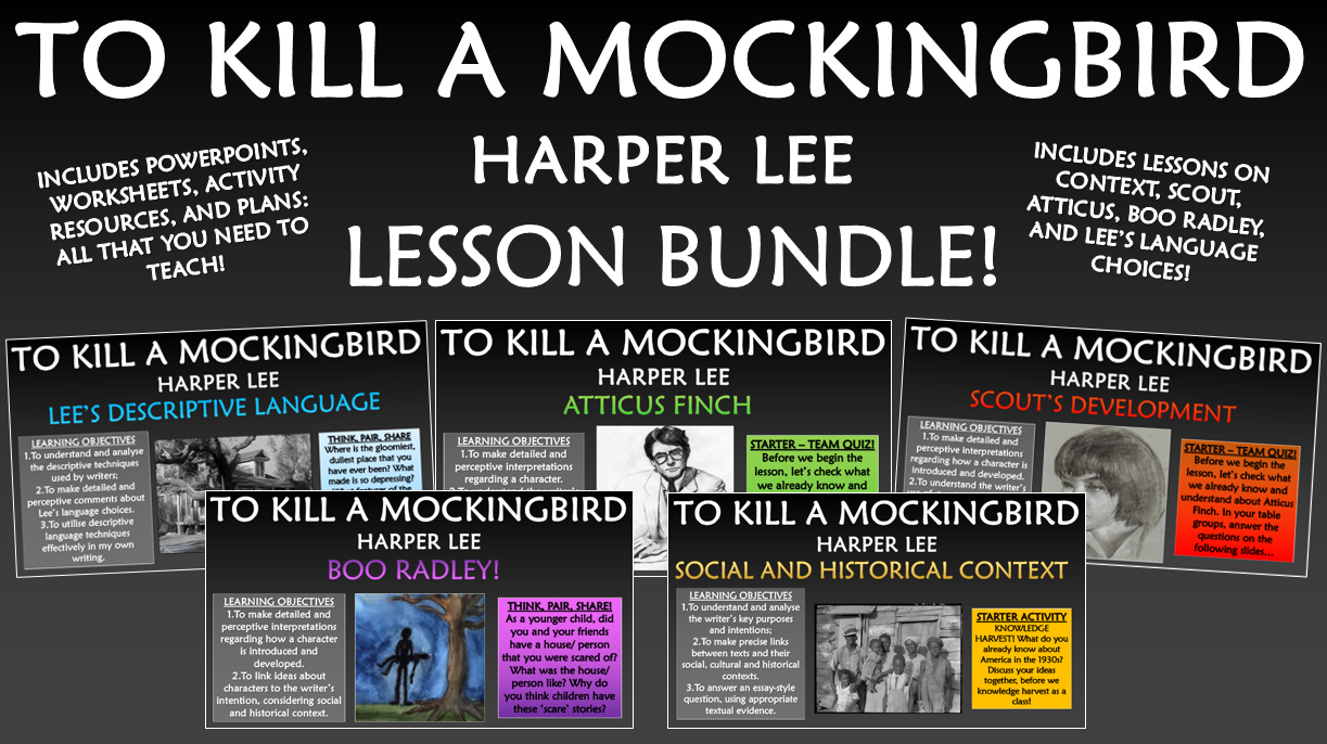 To Kill a Mockingbird Lesson Bundle!