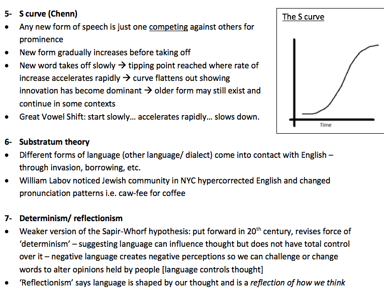 Language Change and the History of English Revision