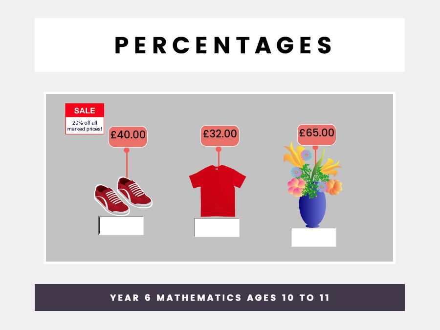 Percentages  Year 6