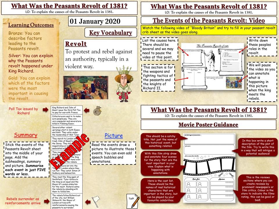 The Peasants Revolt: What Was the Peasants Revolt?