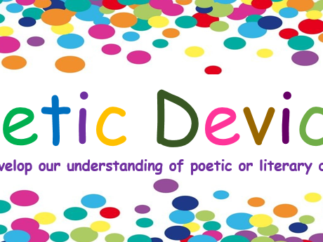 Poetic Devices - sixteen key devices covered for KS4 or KS3 Visual and interactive.