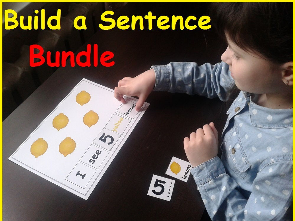 Building Sentences Bundle