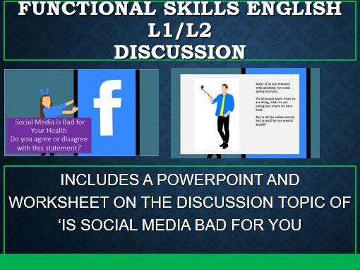 Functional Skills English-Discussion