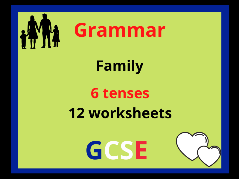 French tenses revision - family
