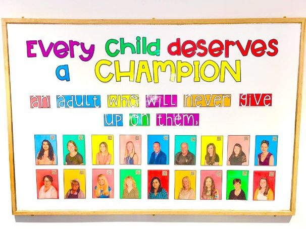 Display Header - Every Child Deserves a Champion Quote
