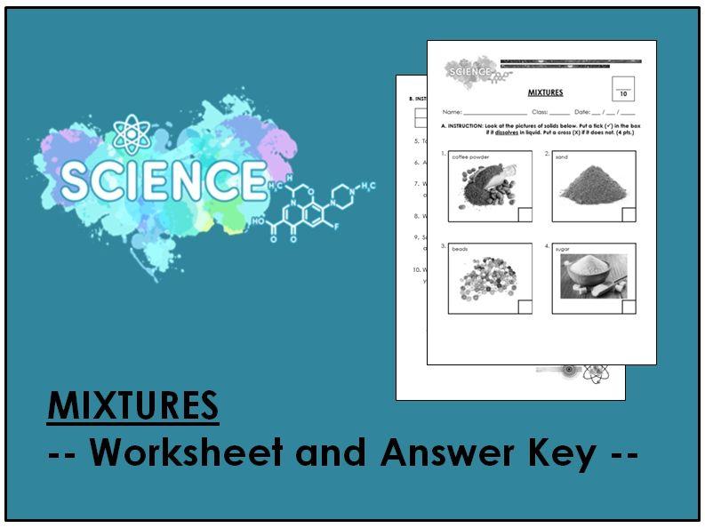 Mixtures (Worksheet & AK)