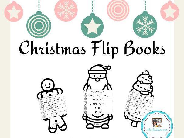 Christmas Flip Books