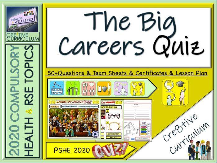 End of Year Careers Quiz