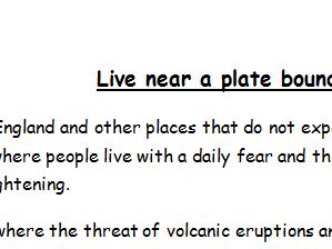 Plate Tectonics Project/Alternative Homework