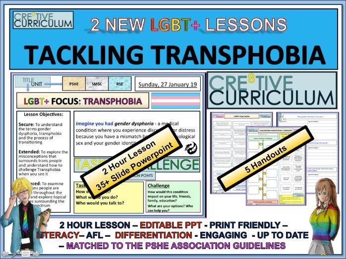 Transphobia - PSHE RSE/C8/LS/07