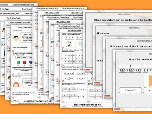 Year 3/4 Mixed Age Autumn Block 3 Step 12 Lesson Pack