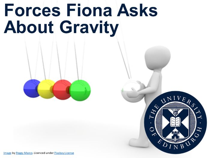 Forces Fiona Asks About Gravity