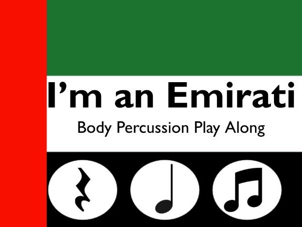 I'm an Emirati  ( Percussion )