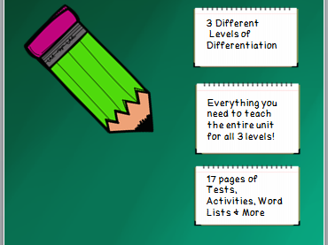 Year 3 Spelling Unit Long O Patterns- 3 Different Levels of Differentiation- 17 page unit