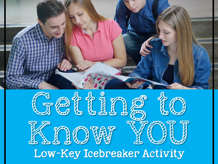 Getting to Know You Activity {Back to School}
