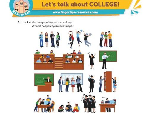 Let's talk about COLLEGE!