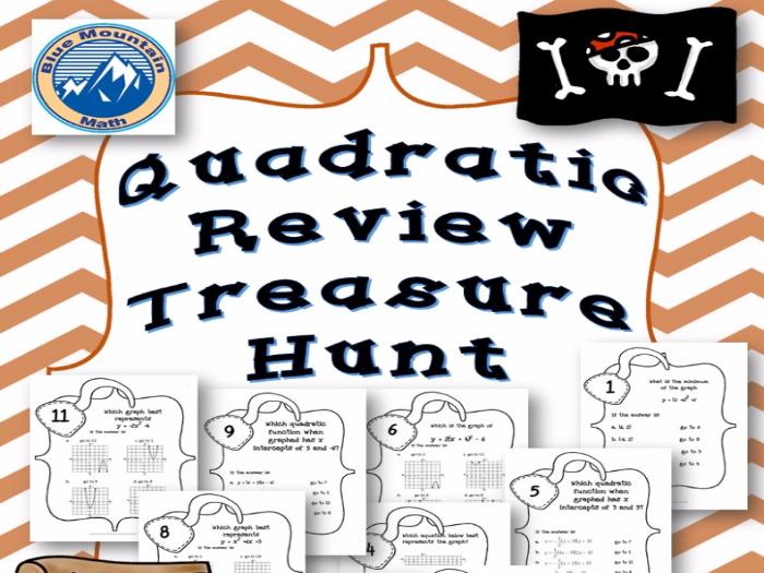 Quadratic Review Treasure Hunt