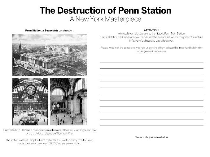 Architecture - The Destruction of Penn Station, New York