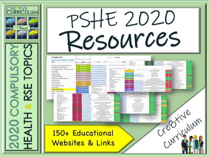 PSHE Resources List