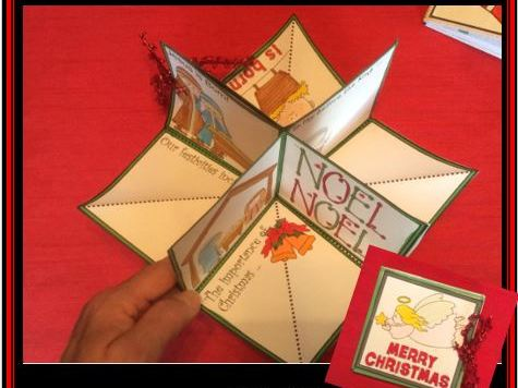 Christmas Crafts - POP-UP Book #2