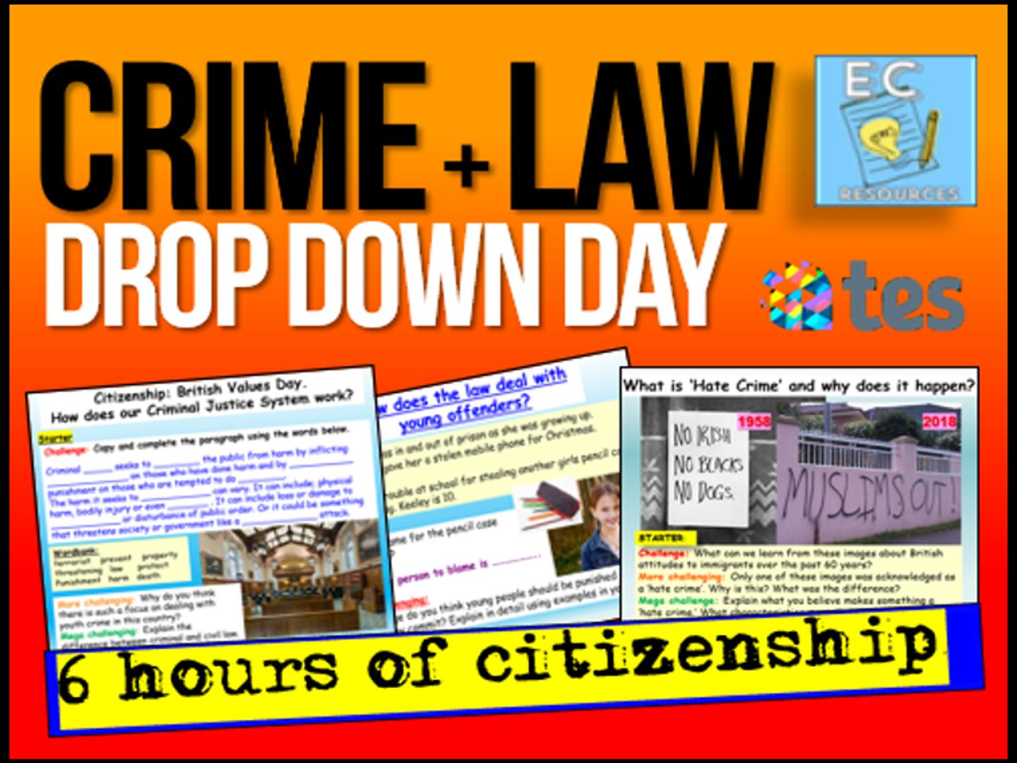 Crime Drop Down Day