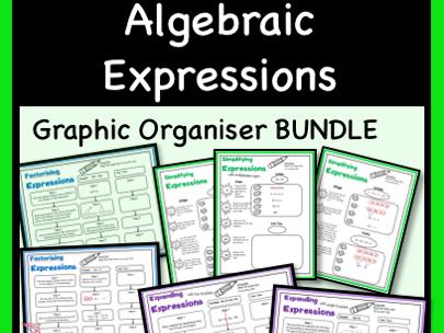 Algebraic Expressions Graphic Organiser