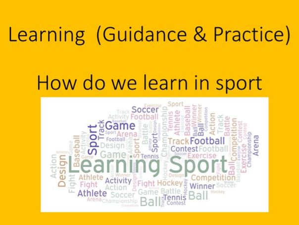 GCSE PE Sport Psychology (Learning and practice)