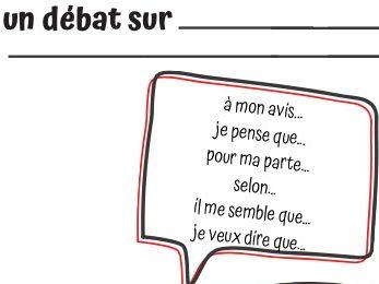 French debate writing grid