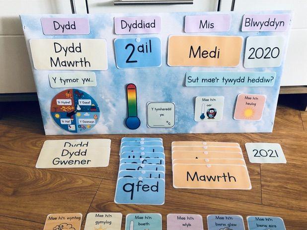 Calendr Cymraeg / Welsh Calendar