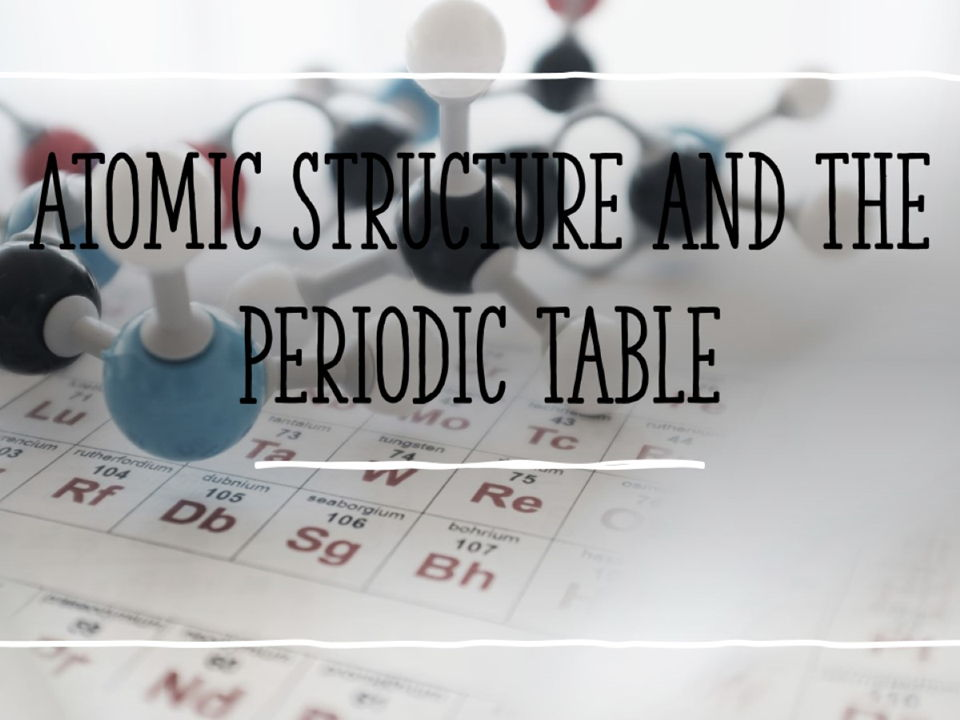 AQA GCSE Chemistry 4.1 Atomic structure and the Periodic table