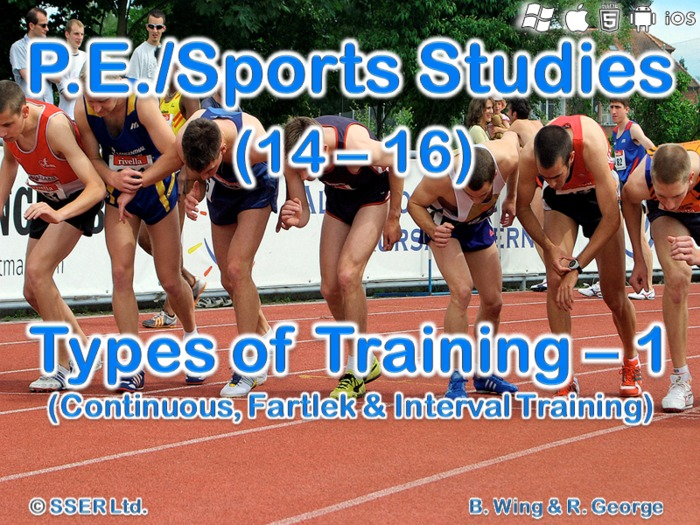 PE404ST - Types of Training - 1 (Continuous, Fartlek & Interval)