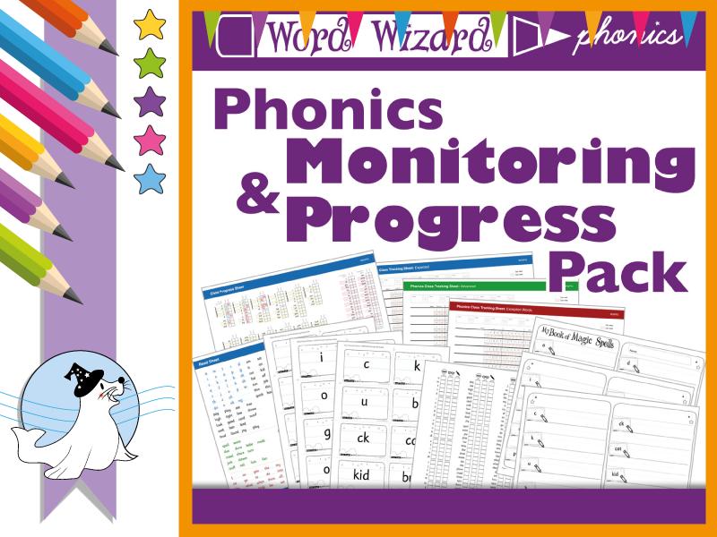 Phonics Monitoring & Progress Pack