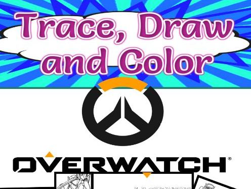 Overwatch Trace, Draw and Color