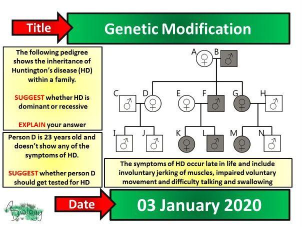 Genetic Modification - AQA Activate