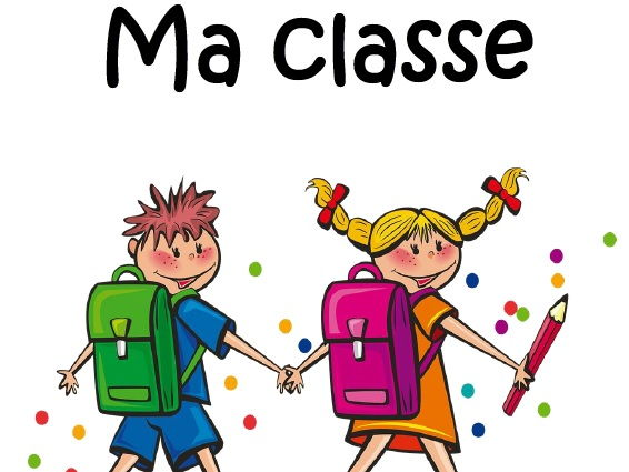 "20 page booklet ""Ma classe"""