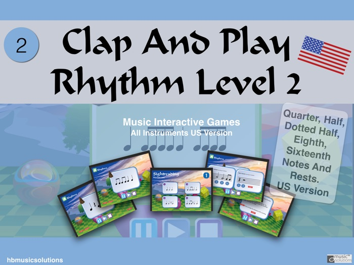 Clap And Play Rhythms Level 2 US Version