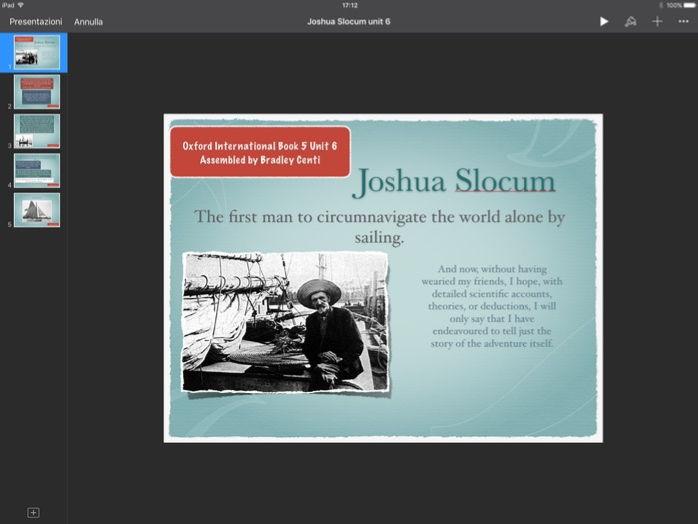 Oxford International English: Theme Joshua Slocum