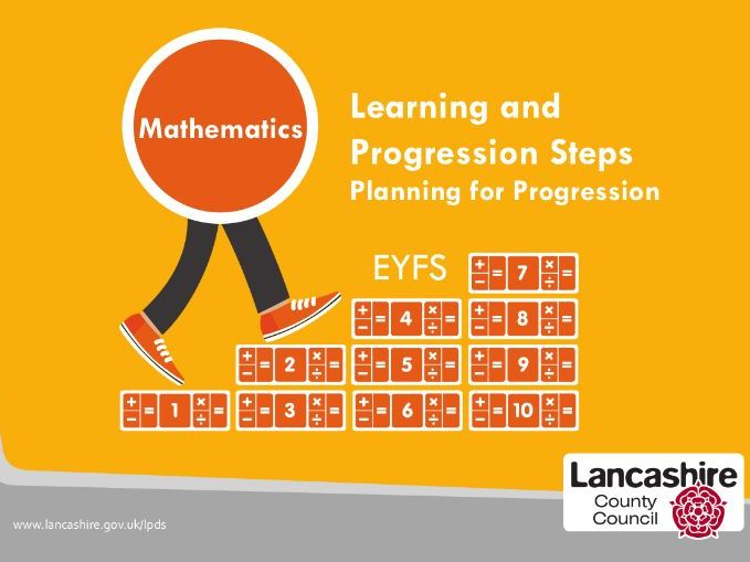 Mathematics - EYFS Learning and Progression Steps (LAPS)
