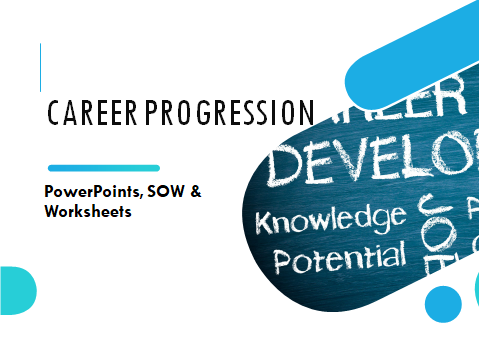 BTEC Level 1 Vocational Studies: Unit 11 Career Progression (Full Unit, SOW & Worksheets)