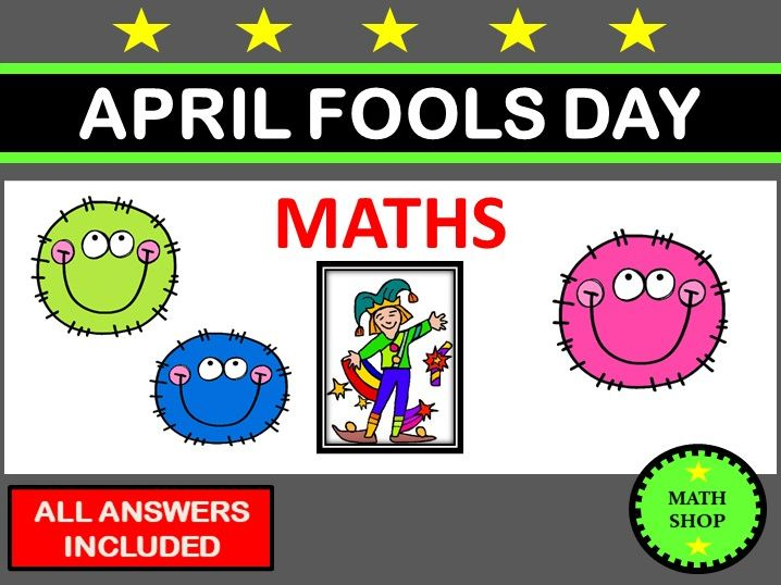 April Fool's Day – Fun Joke Maths