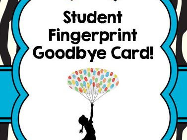 Goodbye Fingerprint Card