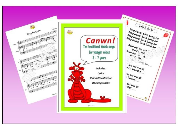 CANWN! Welsh Songs For Younger Children