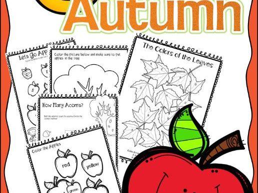 Fall PreK-Kindergarten Package