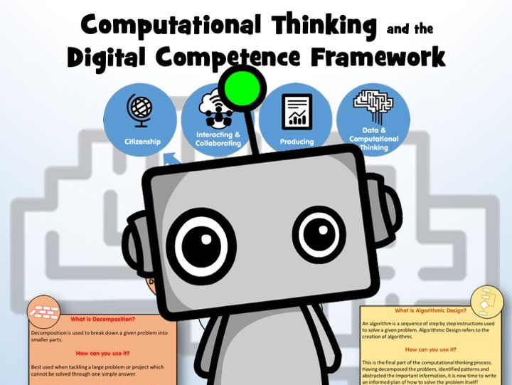 Computational Thinking and the Digital Competence Framework