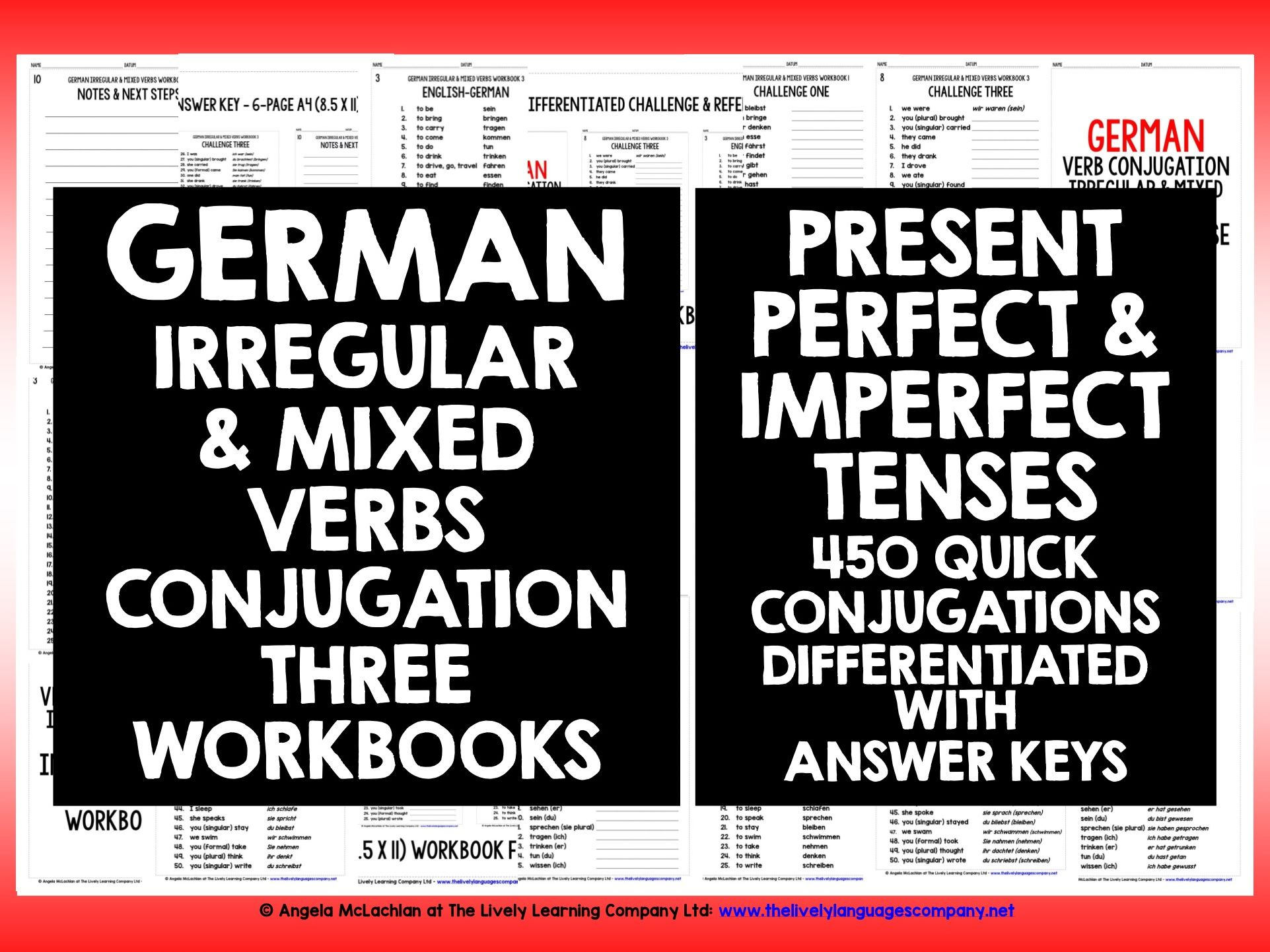GERMAN IRREGULAR VERBS REVISION