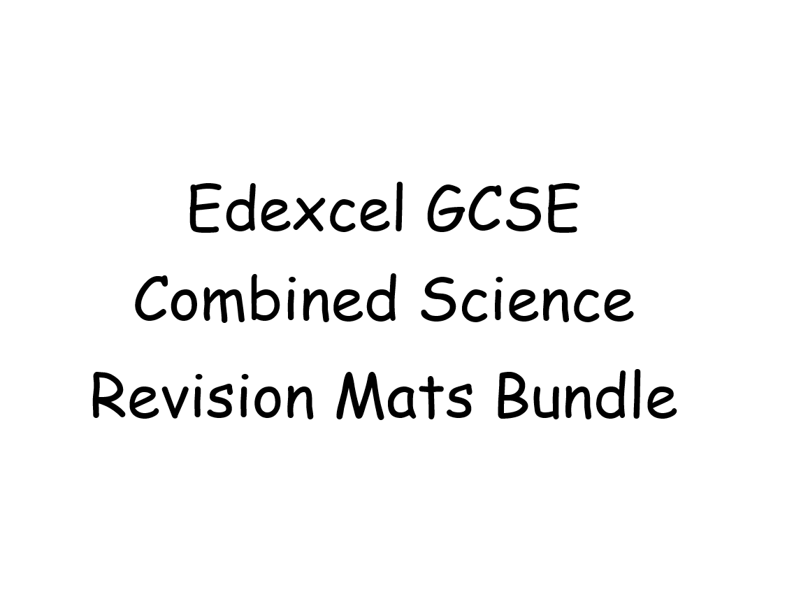 Revision Mats for GCSE Edexcel Combined Science