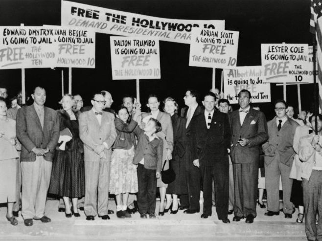 HUAC; Hollywood Ten; Hiss and the Rosenberg's - Fear of the Reds